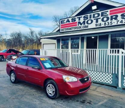 2007 Chevrolet Malibu for sale at EASTSIDE MOTORS in Tulsa OK