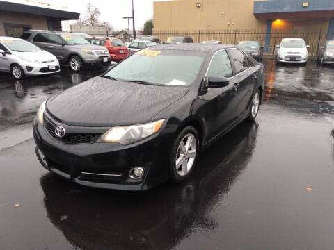 2012 Toyota Camry for sale at Nor Cal Auto Center in Anderson CA
