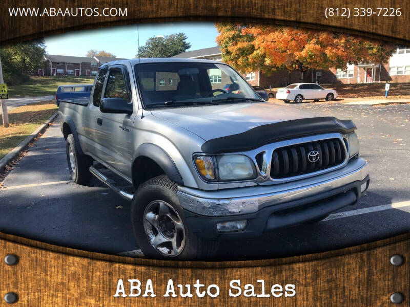 2002 Toyota Tacoma for sale at ABA Auto Sales in Bloomington IN