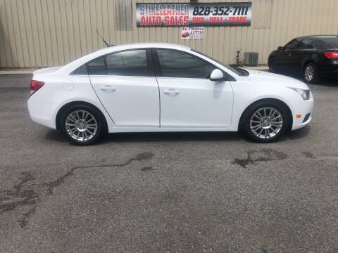 2012 Chevrolet Cruze for sale at Stikeleather Auto Sales in Taylorsville NC