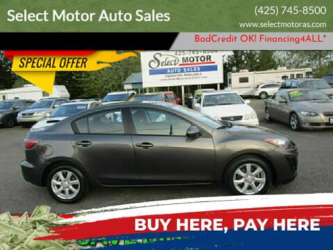 2011 Mazda MAZDA3 for sale at Select Motor Auto Sales in Lynnwood WA