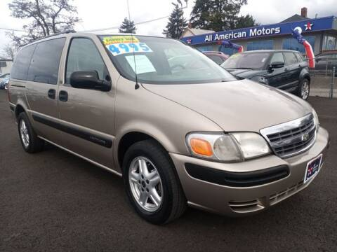 2004 Chevrolet Venture for sale at All American Motors in Tacoma WA
