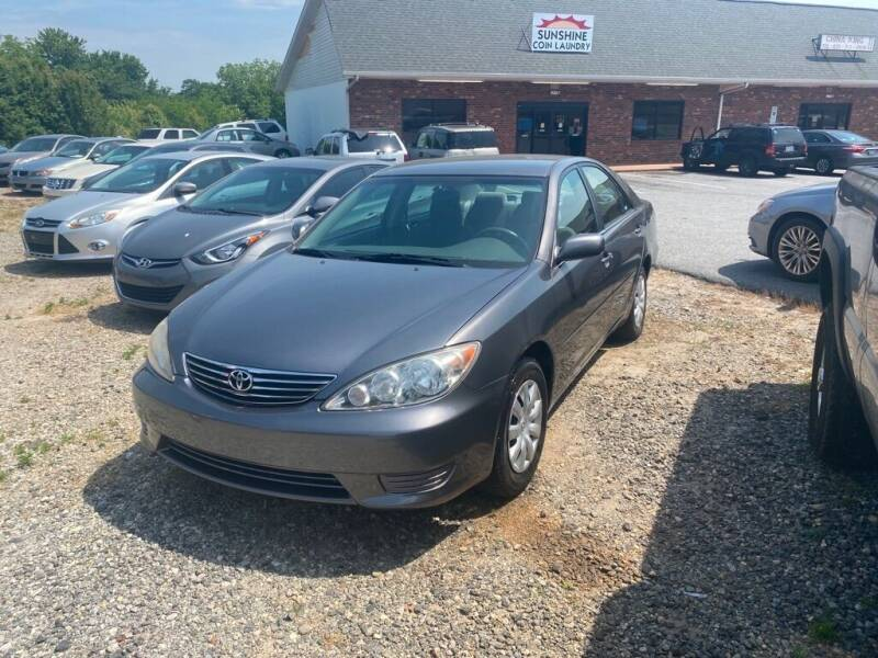 2005 Toyota Camry for sale at S & H AUTO LLC in Granite Falls NC