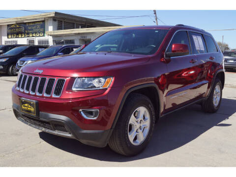 2016 Jeep Grand Cherokee for sale at Watson Auto Group in Fort Worth TX