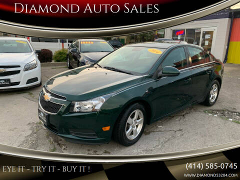 2014 Chevrolet Cruze for sale at Diamond Auto Sales in Milwaukee WI