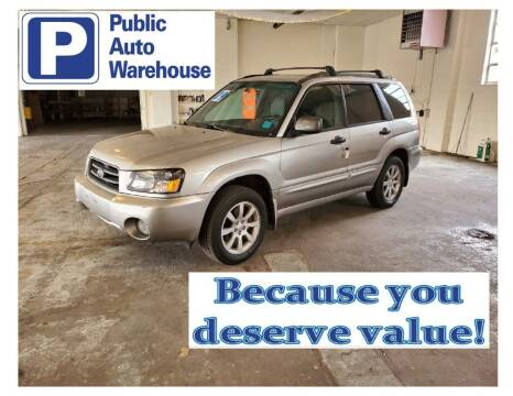 2005 Subaru Forester for sale at Public Auto Warehouse in Pekin IL