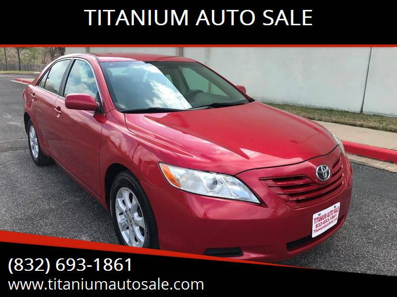 2007 Toyota Camry for sale at TITANIUM AUTO SALE in Houston TX