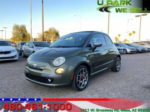 2012 FIAT 500c for sale at UPARK WE SELL AZ in Mesa AZ
