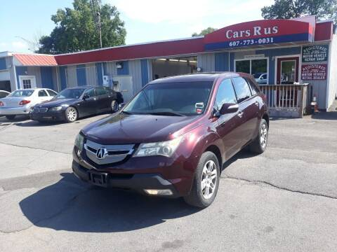 2007 Acura MDX for sale at Cars R Us in Binghamton NY