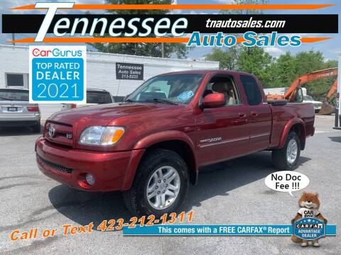 2003 Toyota Tundra for sale at Tennessee Auto Sales in Elizabethton TN