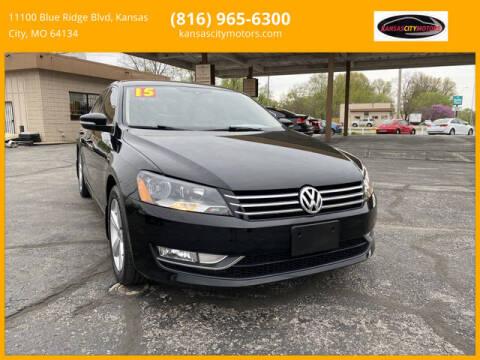 2015 Volkswagen Passat for sale at Kansas City Motors in Kansas City MO