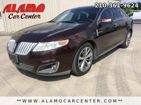 2009 Lincoln MKS for sale at Alamo Car Center in San Antonio TX