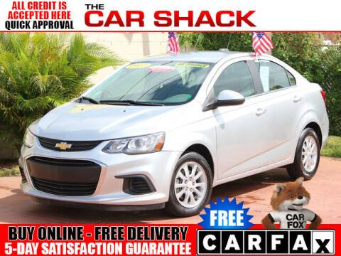 2017 Chevrolet Sonic for sale at The Car Shack in Hialeah FL