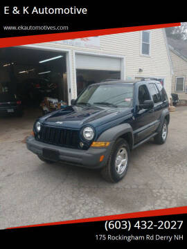2005 Jeep Liberty for sale at E & K Automotive in Derry NH