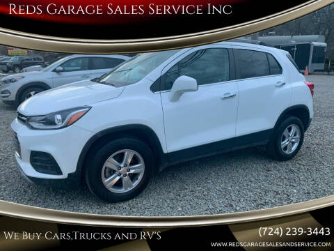 2018 Chevrolet Trax for sale at Reds Garage Sales Service Inc in Bentleyville PA