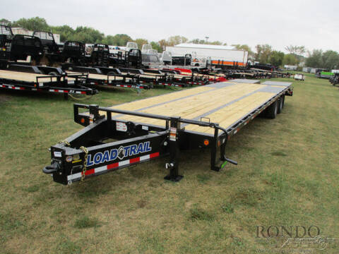 2022 Load Trail Equipment Deckover PP0232122 for sale at Rondo Truck & Trailer in Sycamore IL
