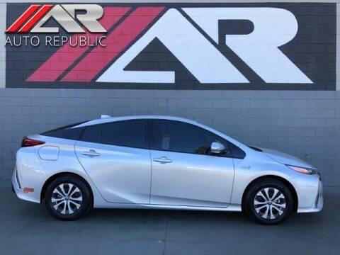 2020 Toyota Prius Prime for sale at Auto Republic Fullerton in Fullerton CA