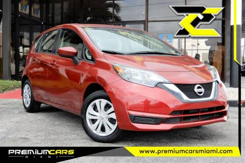 2019 Nissan Versa Note for sale at Premium Cars of Miami in Miami FL
