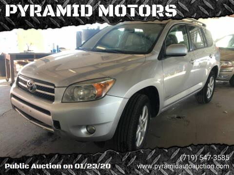 2006 Toyota RAV4 for sale at PYRAMID MOTORS - Pueblo Lot in Pueblo CO