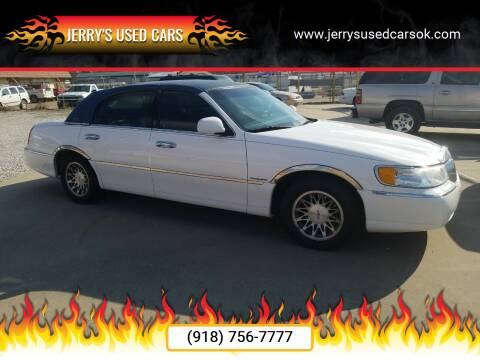 2002 Lincoln Town Car for sale at Jerry's Used Cars in Okmulgee OK