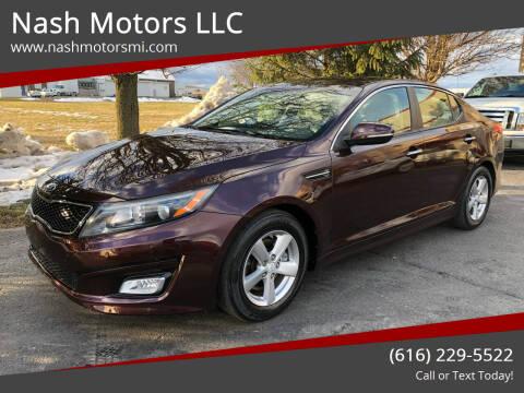 2015 Kia Optima for sale at Nash Motors LLC in Hudsonville MI