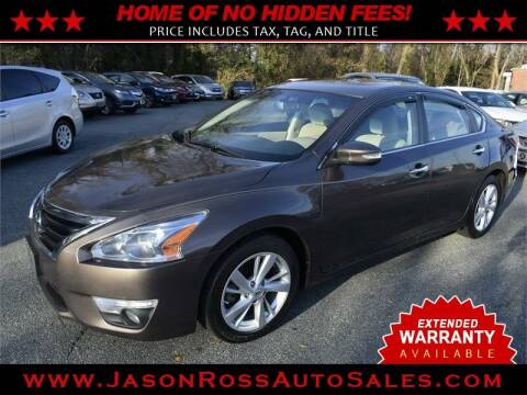 2014 Nissan Altima for sale at Jason Ross Auto Sales in Burlington NC