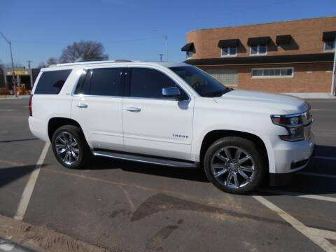 2015 Chevrolet Tahoe for sale at Creighton Auto & Body Shop in Creighton NE