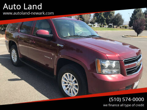 2009 Chevrolet Tahoe for sale at Auto Land in Newark CA
