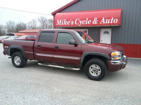 2003 GMC Sierra 1500HD for sale at MIKE'S CYCLE & AUTO in Connersville IN