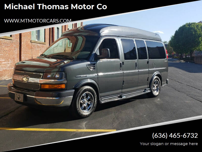 2014 Chevrolet Express Cargo for sale at Michael Thomas Motor Co in Saint Charles MO