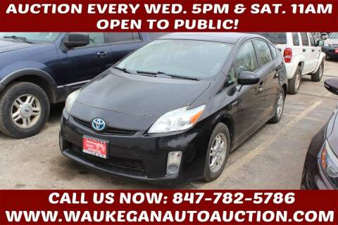 2010 Toyota Prius for sale at Waukegan Auto Auction in Waukegan IL