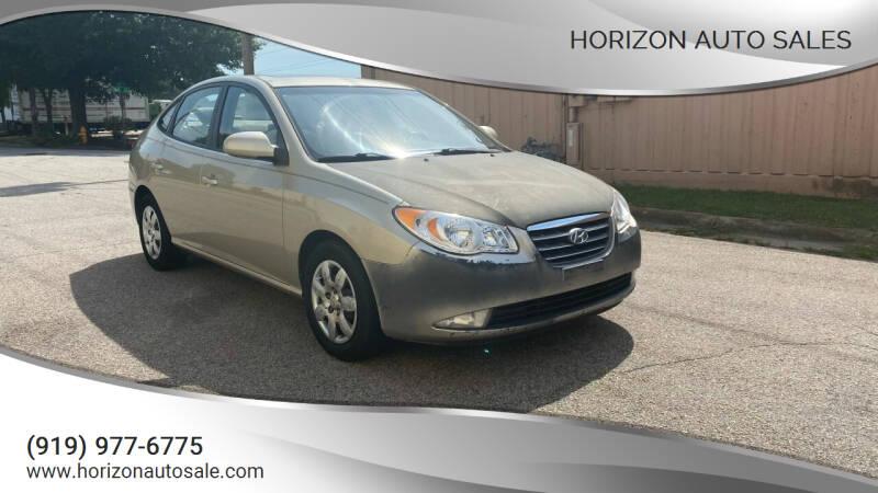 2007 Hyundai Elantra for sale at Horizon Auto Sales in Raleigh NC