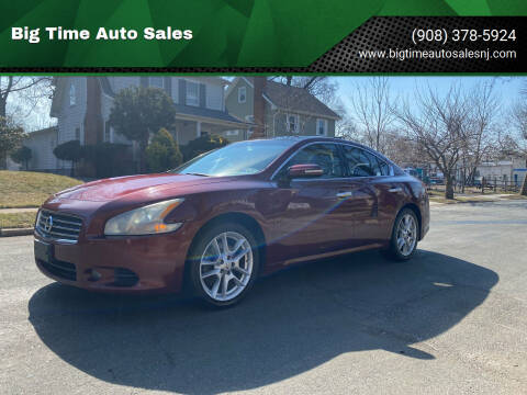 2011 Nissan Maxima for sale at Big Time Auto Sales in Vauxhall NJ