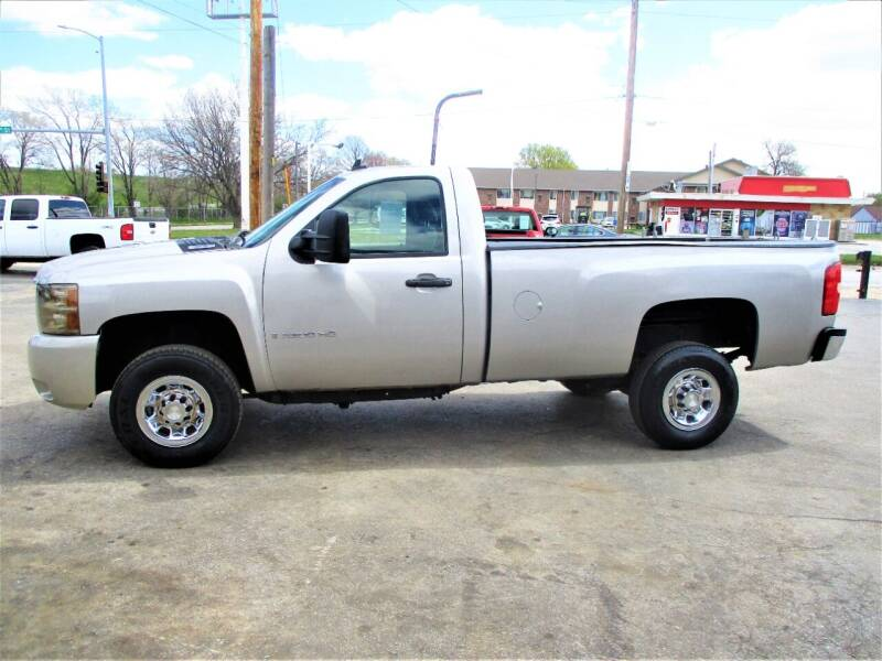 2007 Chevrolet Silverado 3500HD for sale at Steffes Motors in Council Bluffs IA