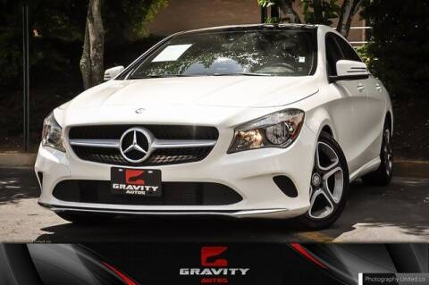 2017 Mercedes-Benz CLA for sale at Gravity Autos Atlanta in Atlanta GA