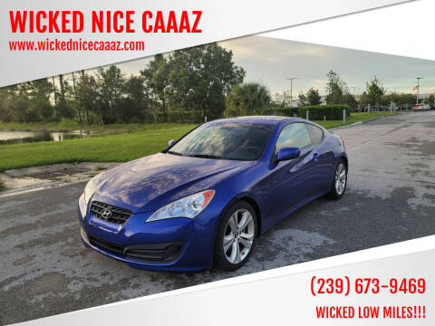 2012 Hyundai Genesis Coupe for sale at WICKED NICE CAAAZ in Cape Coral FL