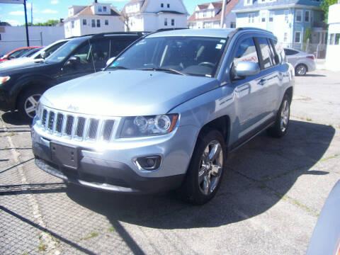 2014 Jeep Compass for sale at Dambra Auto Sales in Providence RI