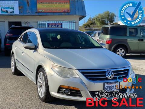 2009 Volkswagen CC for sale at Gold Coast Motors in Lemon Grove CA