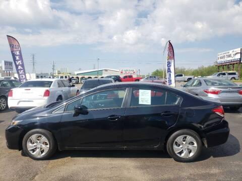 2015 Honda Civic for sale at Rayyan Auto Mall in Lexington KY