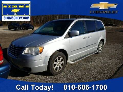 2010 Chrysler Town and Country for sale at Aaron Adams @ Simms Chevrolet in Clio MI