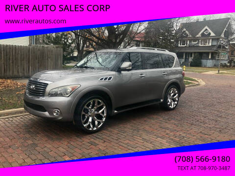 2011 Infiniti QX56 for sale at RIVER AUTO SALES CORP in Maywood IL