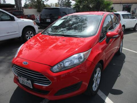 2014 Ford Fiesta for sale at F & A Car Sales Inc in Ontario CA
