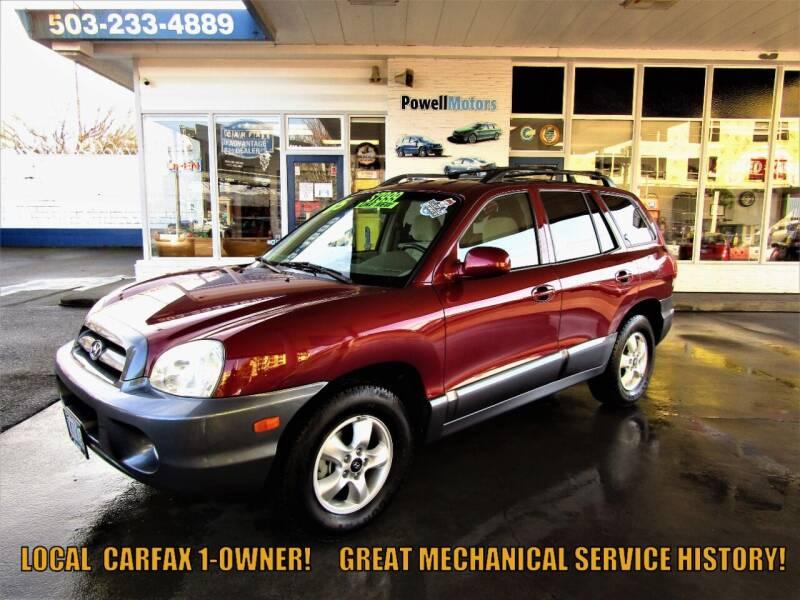 2005 Hyundai Santa Fe for sale at Powell Motors Inc in Portland OR