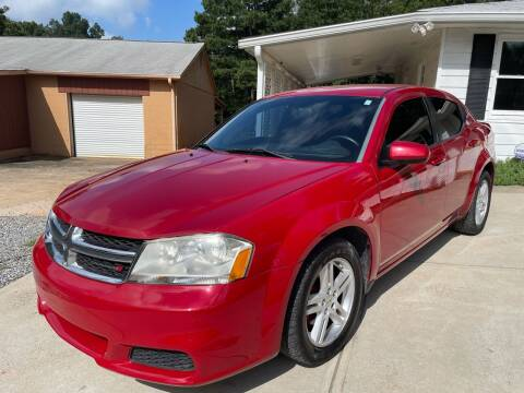 2012 Dodge Avenger for sale at Efficiency Auto Buyers in Milton GA