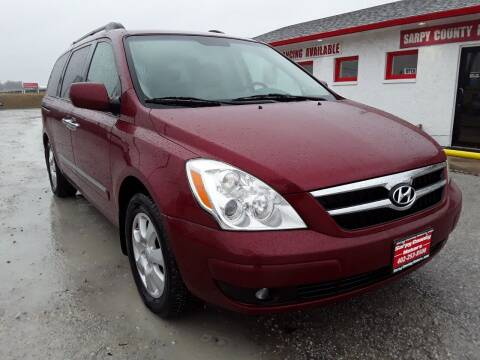 2008 Hyundai Entourage for sale at Sarpy County Motors in Springfield NE