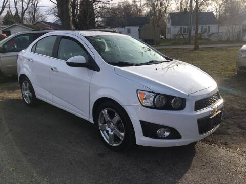 2015 Chevrolet Sonic for sale at Antique Motors in Plymouth IN