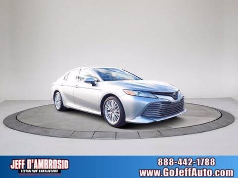 2018 Toyota Camry for sale at Jeff D'Ambrosio Auto Group in Downingtown PA