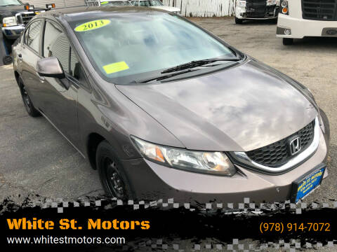 2013 Honda Civic for sale at White St. Motors in Haverhill MA