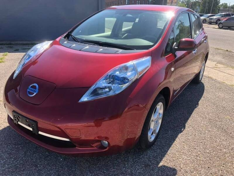 2011 Nissan LEAF for sale at Two Rivers Auto Sales Corp. in South Bend IN