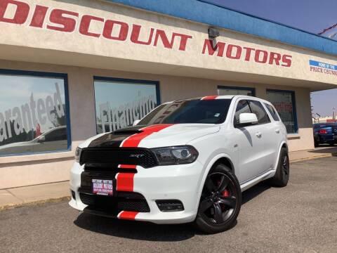 2018 Dodge Durango for sale at Discount Motors in Pueblo CO